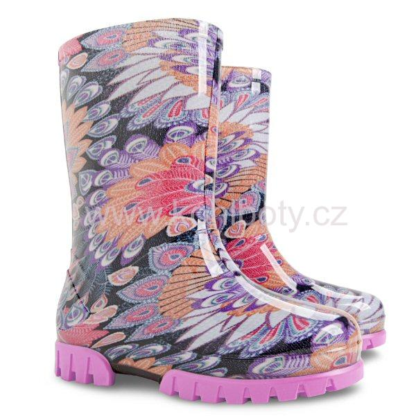 Holinky Demar Twister Print 0037 vel. 24-25